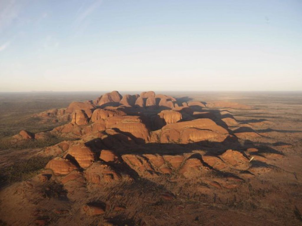 Kata Tjuta from the helicopter ride