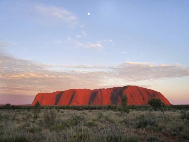 """Uluru Ayers Rock at sunrise"""