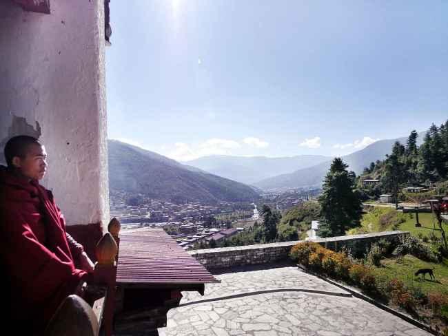 "'Dechenprodrang Monastery"""