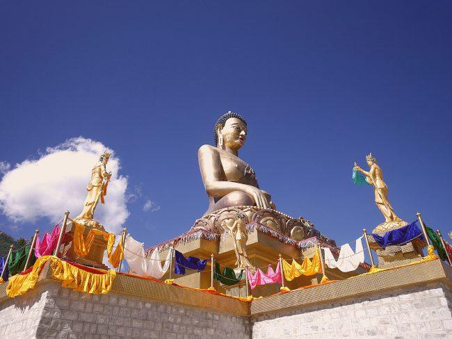 """""""Bhutan Bid Buddha'"""