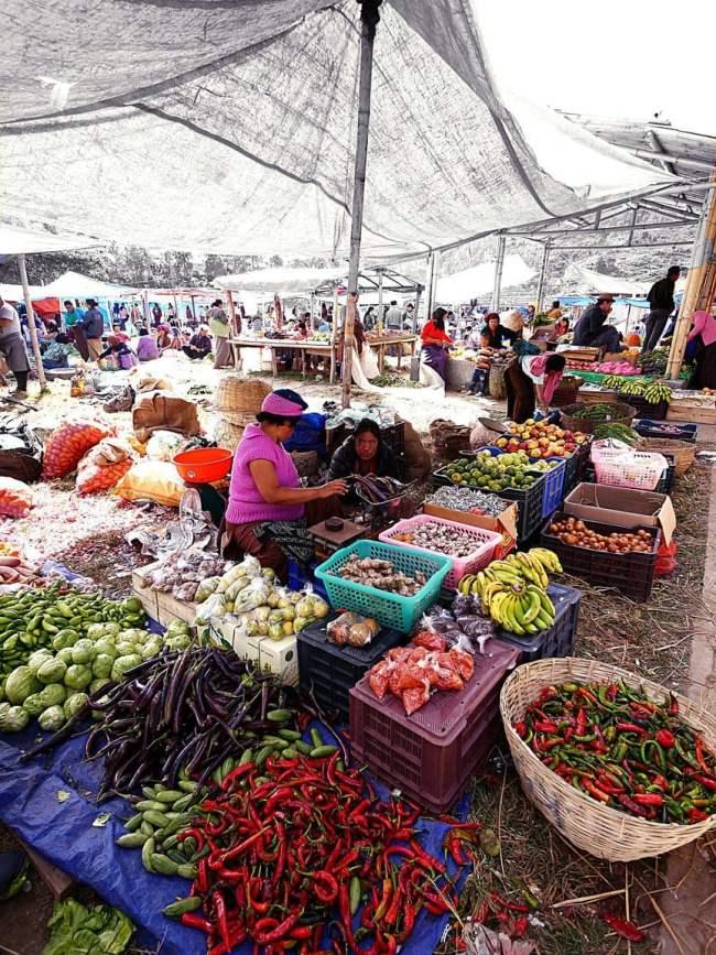 """""""Punakha market'"""