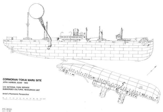 """""""Cormoran II and Tokai Maru Wreck"""""""
