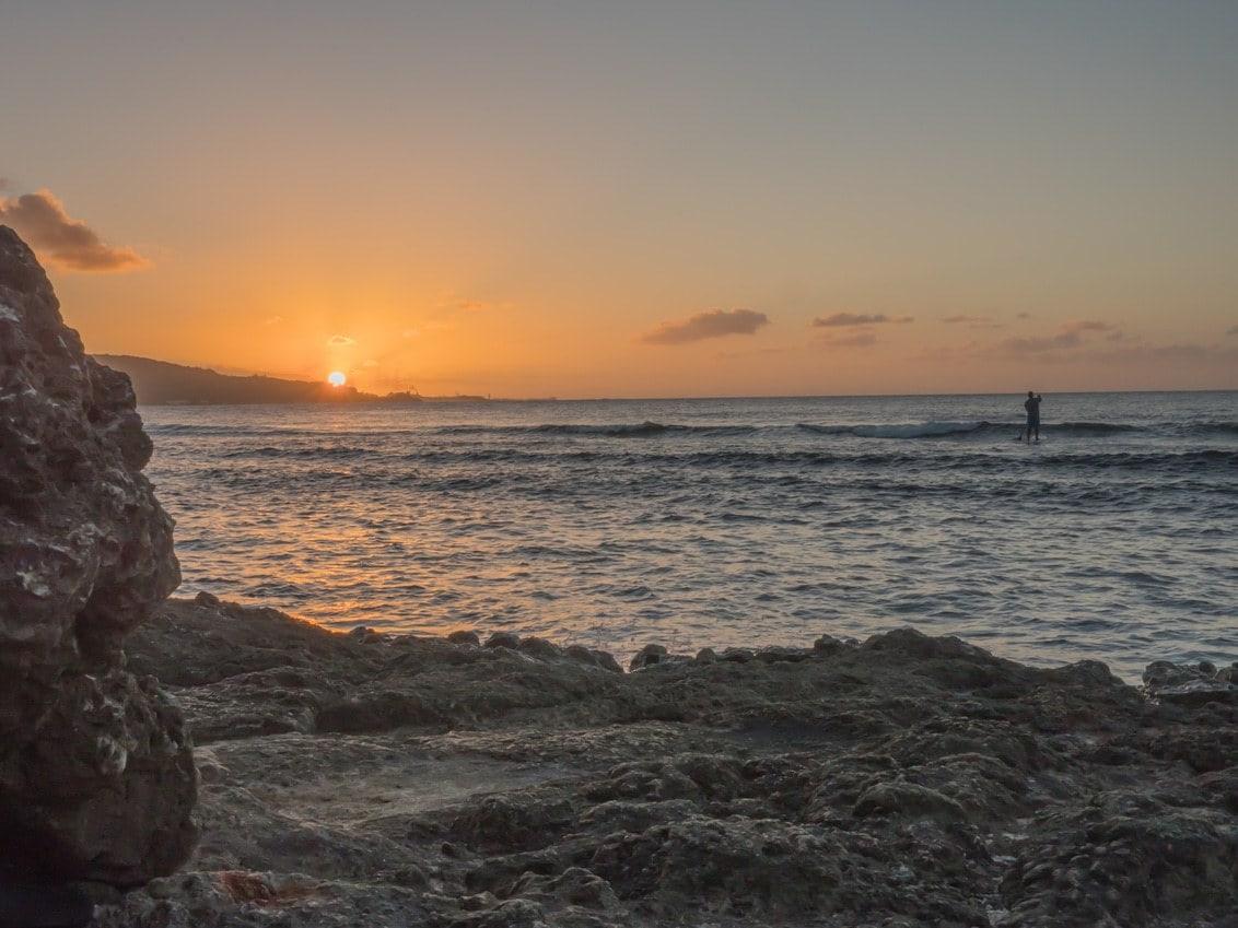 Sunset from the Sheraton Laguna Guam