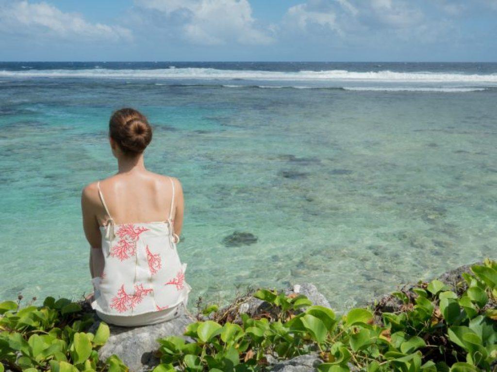 Guam's blue waters