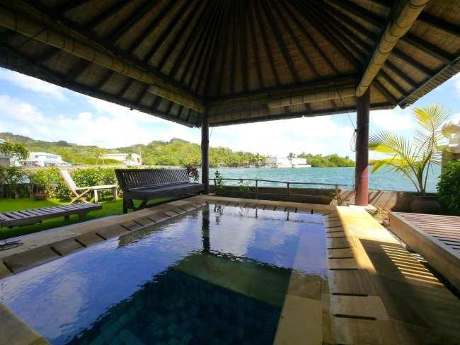 """Manta Ray Bay Resort Deluxe room in Yap"""