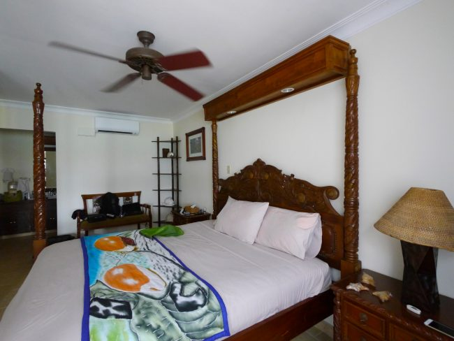 """Manta Ray Bay Resort Deluxe room in Yap"""