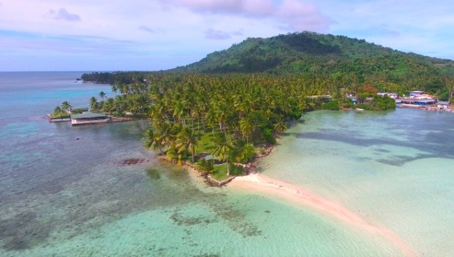 """""""Chuuk aerial photo"""" Interesting facts about Micronesia"""