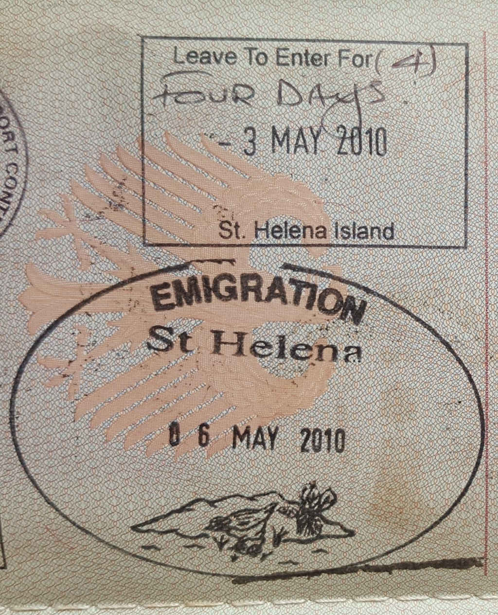 A Collection Of Rare Passport Stamps From All Around The Globe