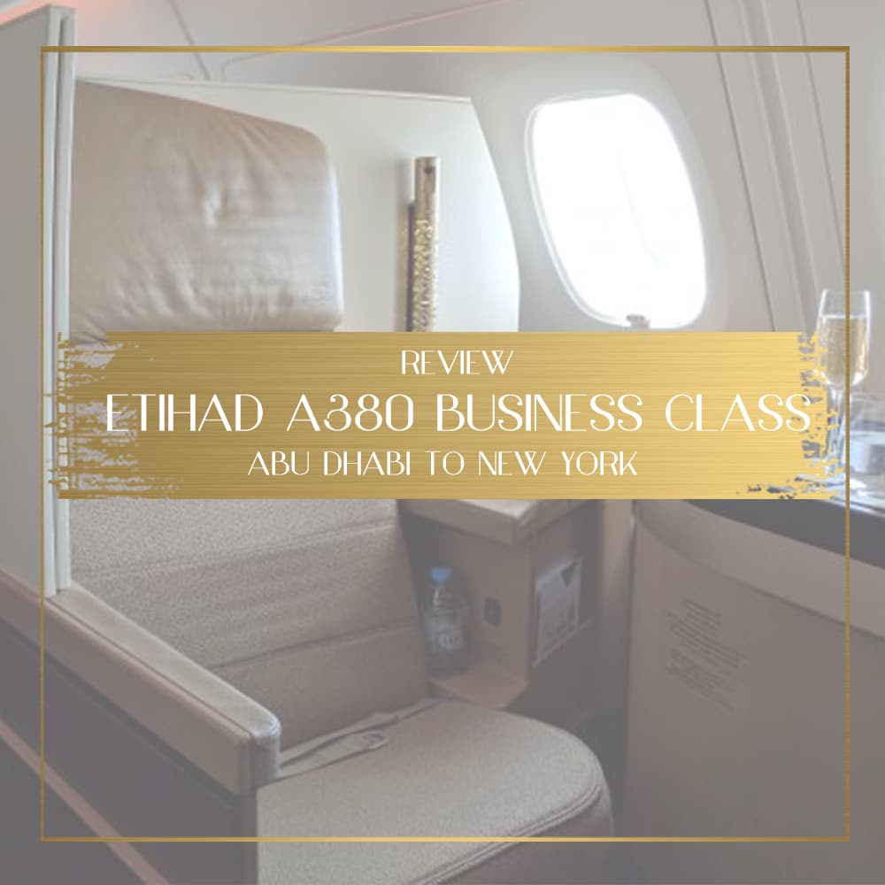Africa Business Class: Review Of Etihad A380 Business Class Abu Dhabi To New York