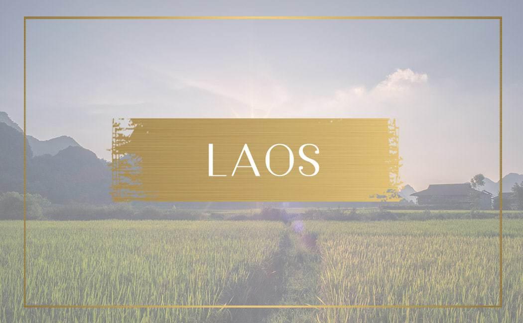destination Laos