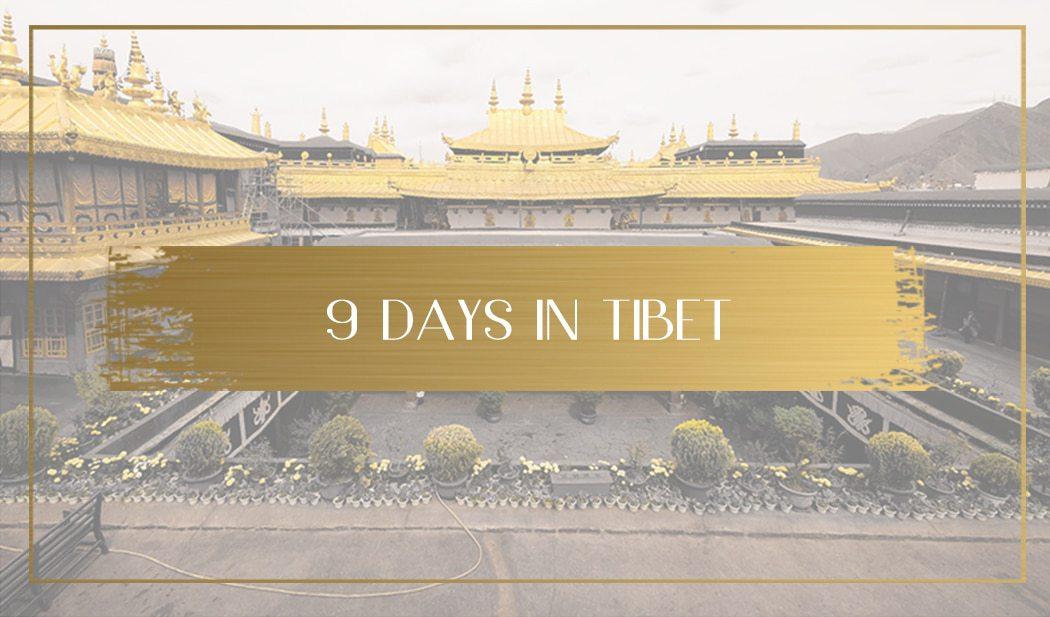 9 days in Tibet Main