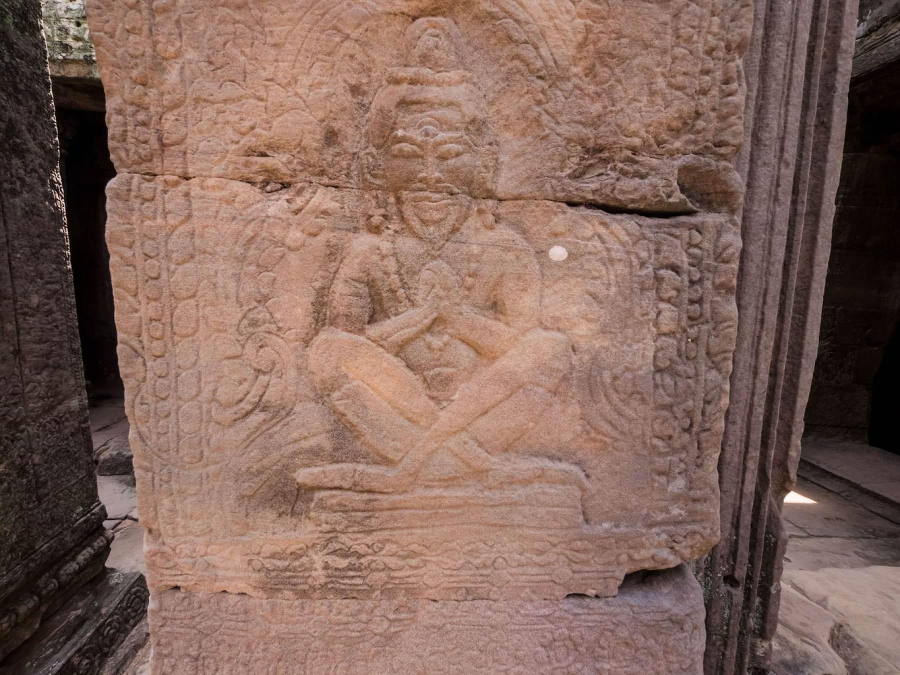 Buddha looking very Hindu