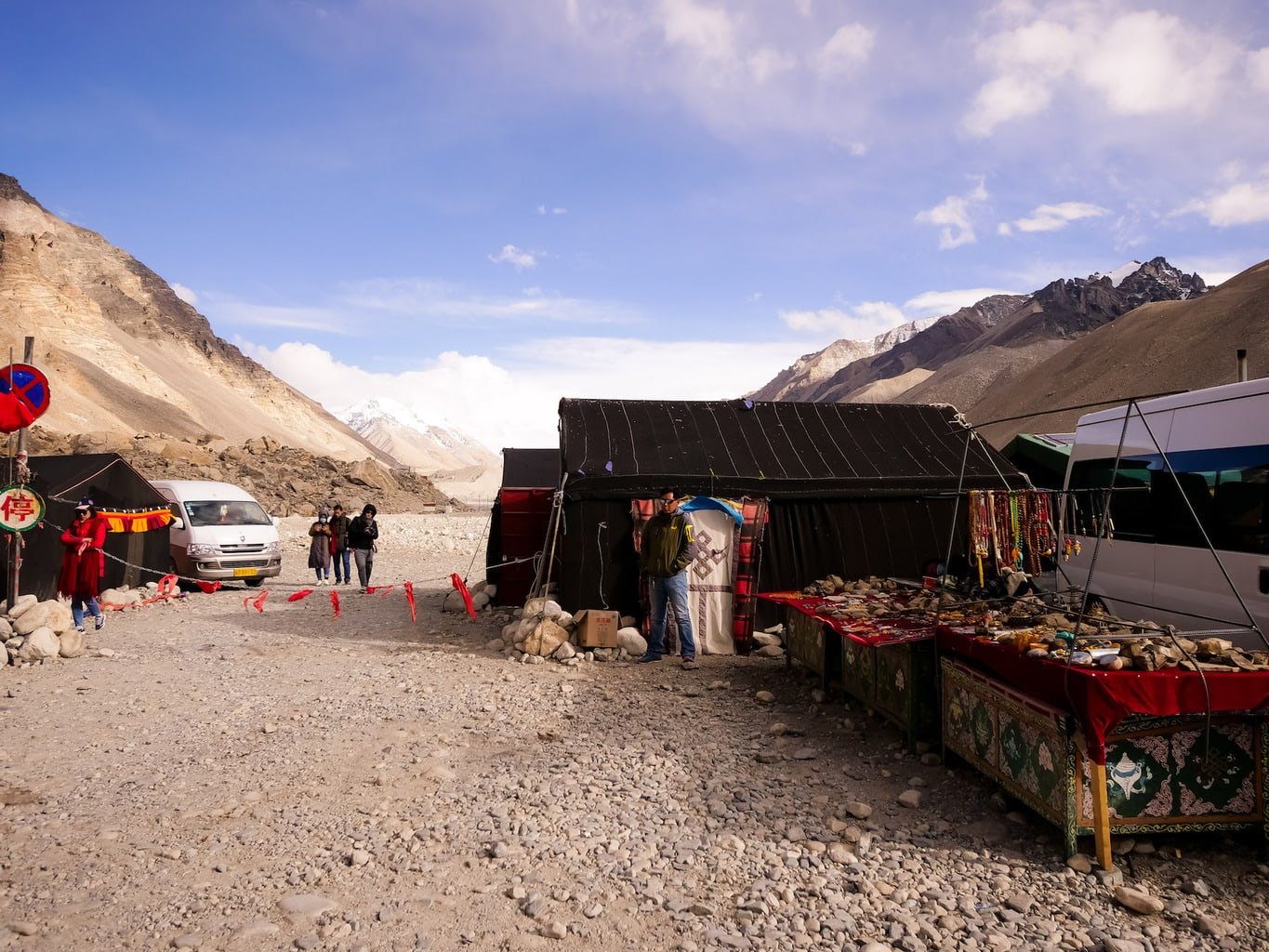 Tent hotel at Everest base camp