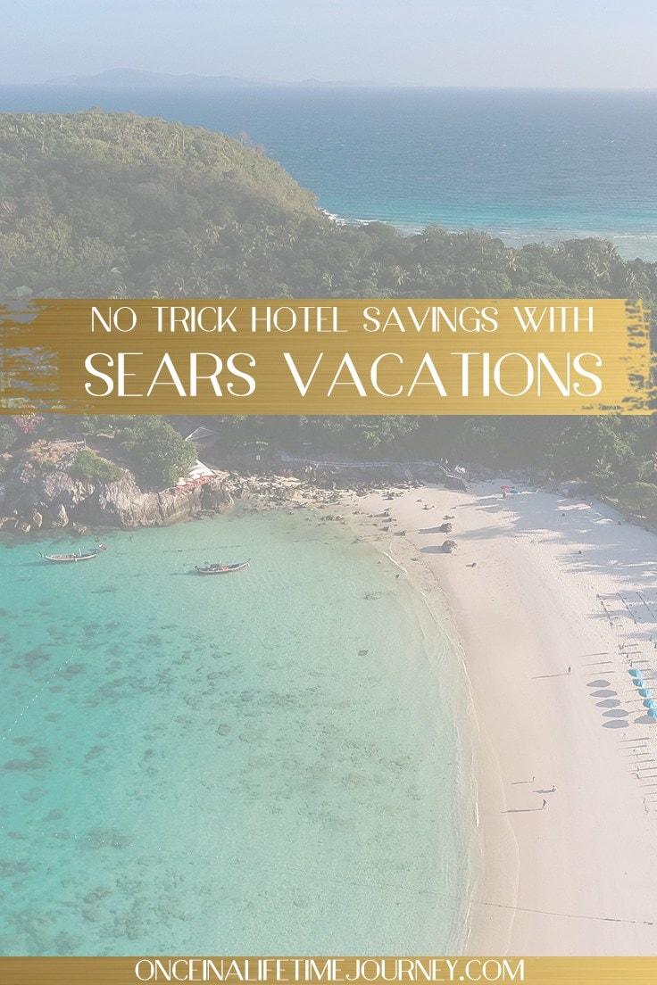 Sears vacation Pin