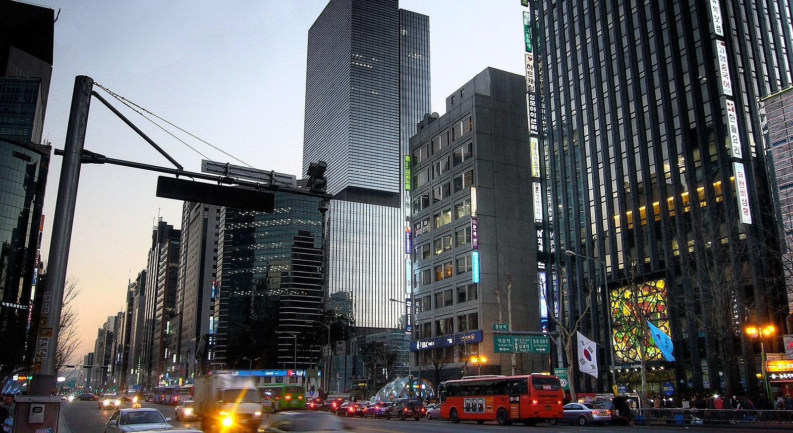 Gangnam Station Exit 10