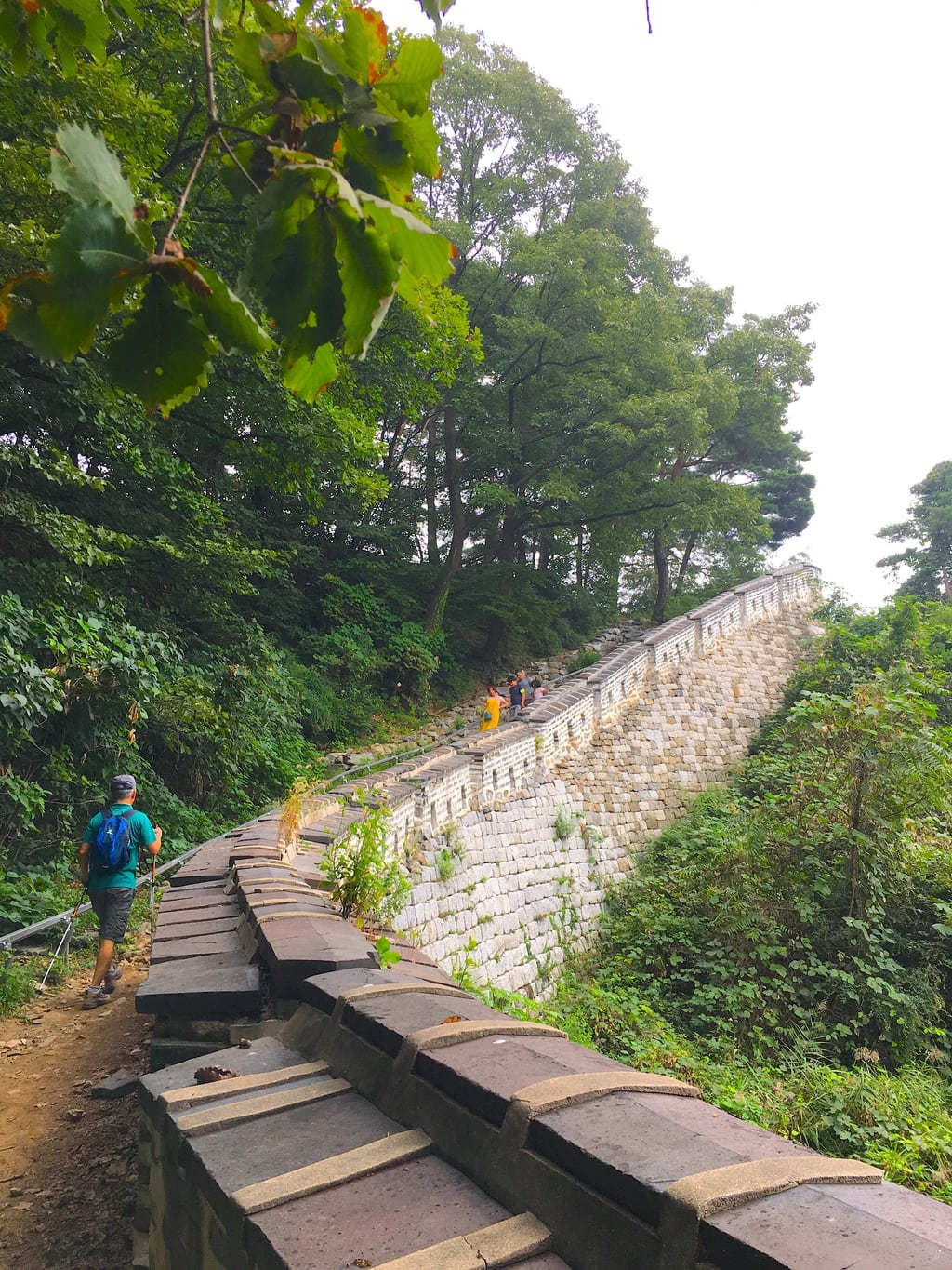 Hiking UNESCO-listed Namhansanseong in Gyeonggi