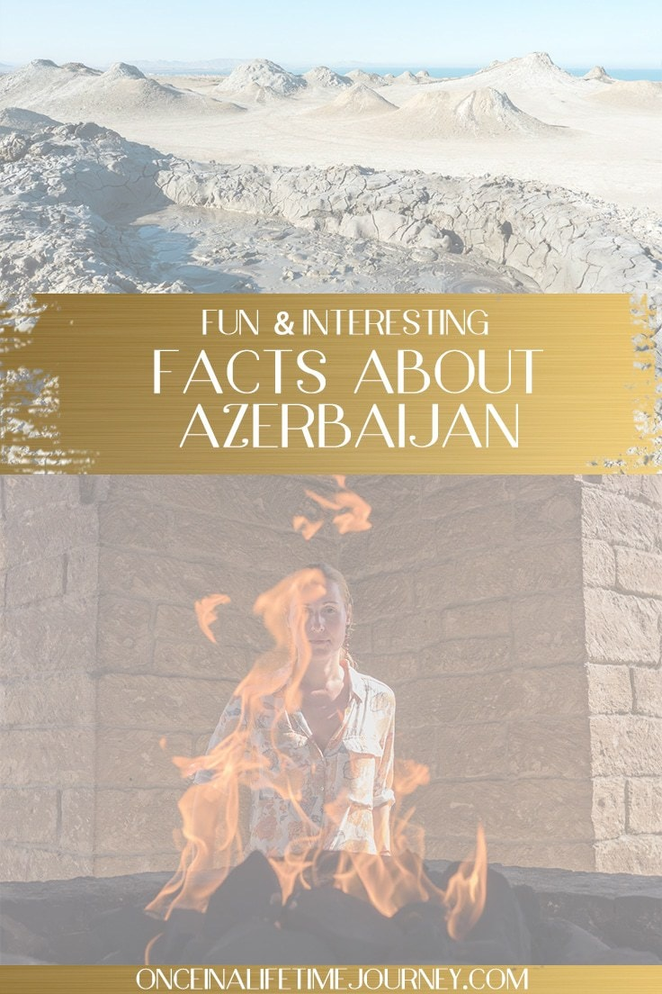 facts about Azerbaijan Pin