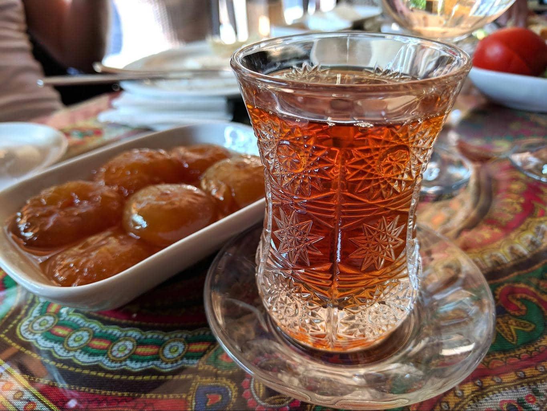 Jam tea in Azerbaijan