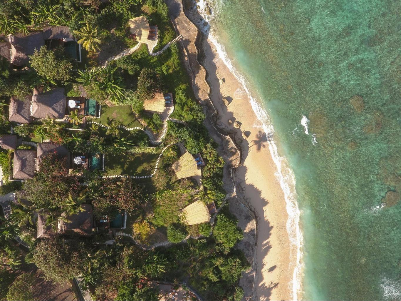 Nihi Sumba Hotel review, Aerial greenery