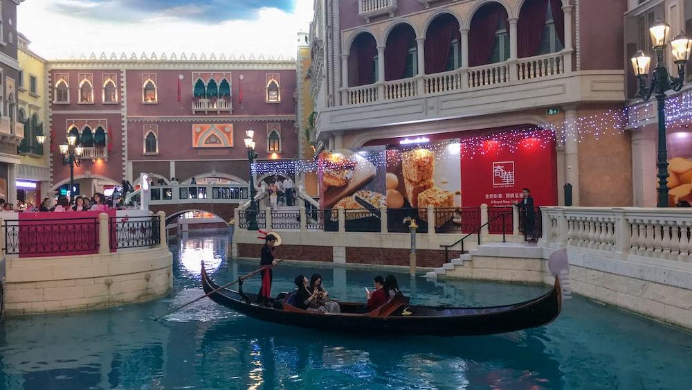 """""""Gondolas at The Venetian Macau"""""""