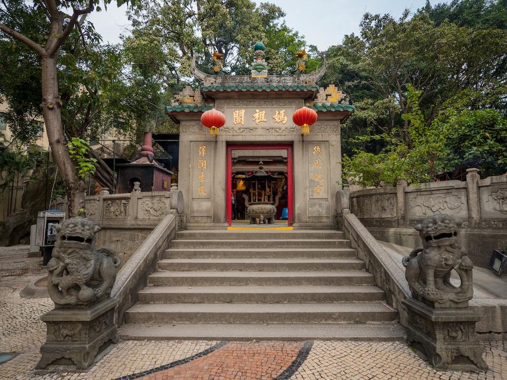 """A Ma Temple Macau entrance"""