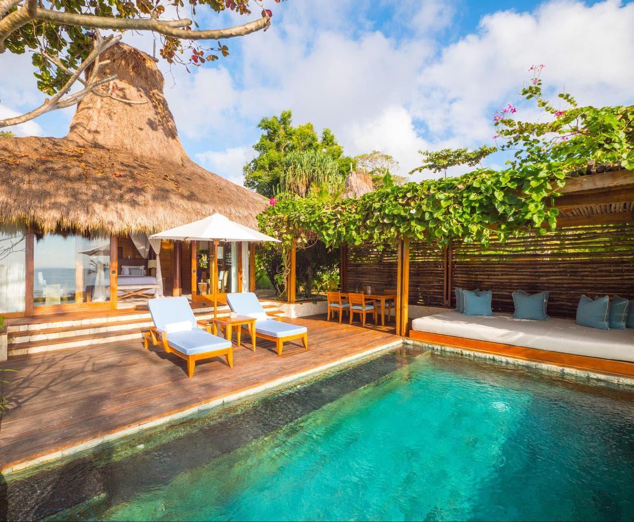 Nihi Sumba Hotel review, Villa and pool
