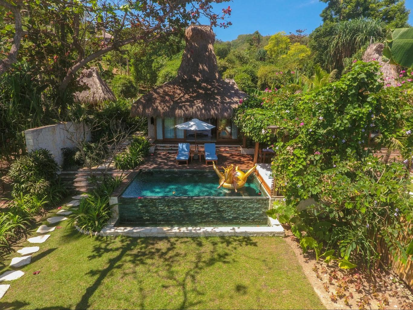 Nihi Sumba Hotel review, Villa from above