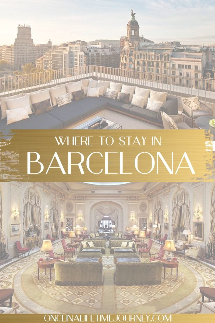 Where to stay in Barcelona, pin