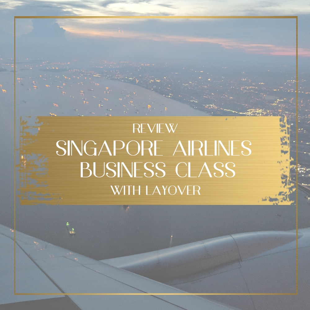 Africa Business Class: Review Of Singapore Airlines Business Class To San