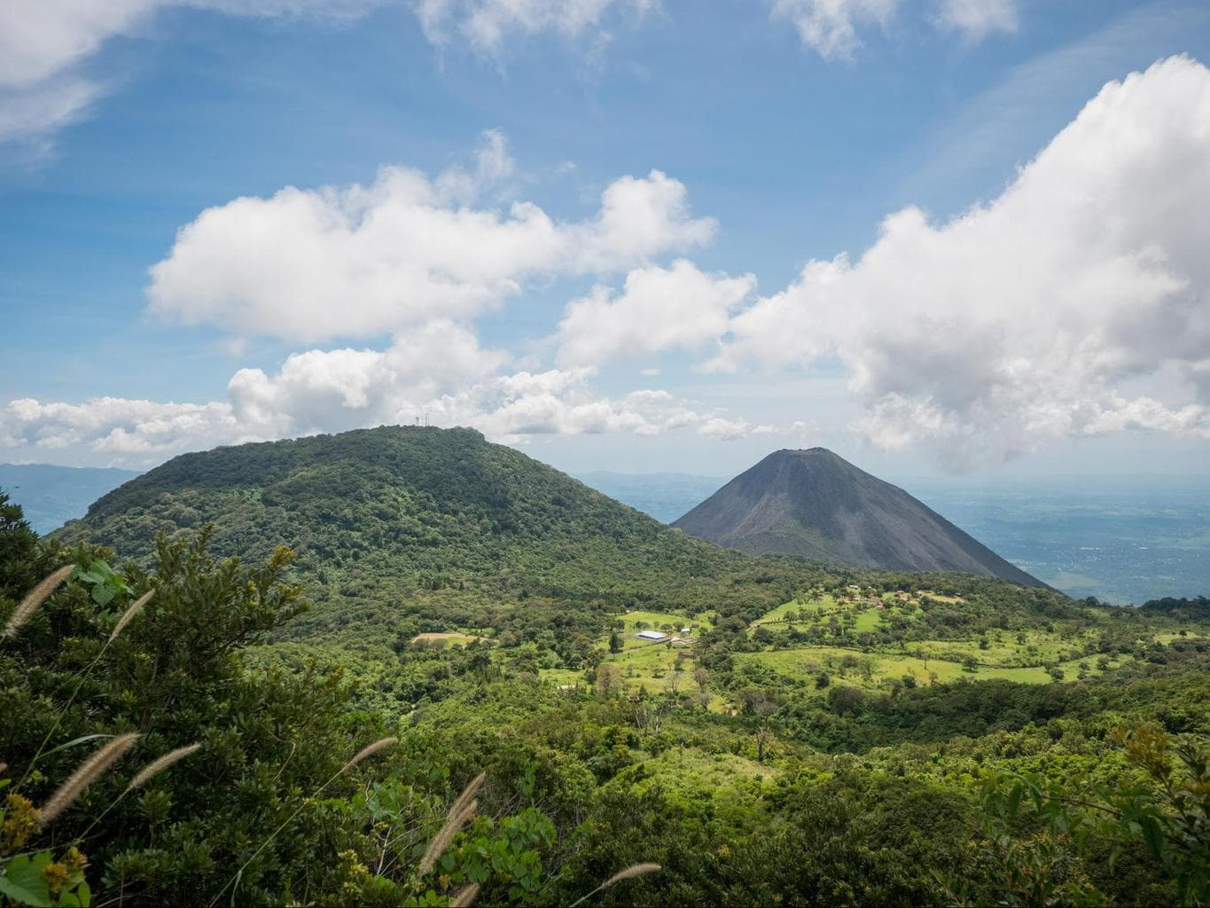 Volcanoes in El Salvador