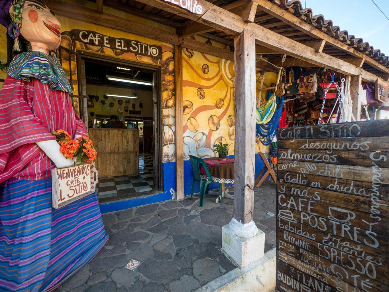 Cafe El Sitio in Ataco