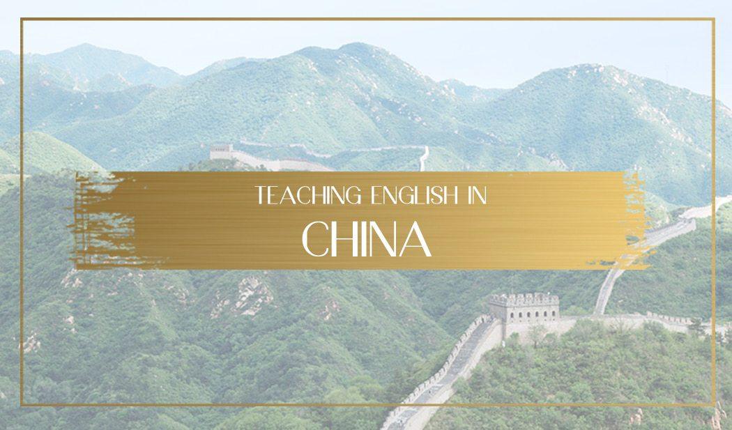 Teaching English in China Main