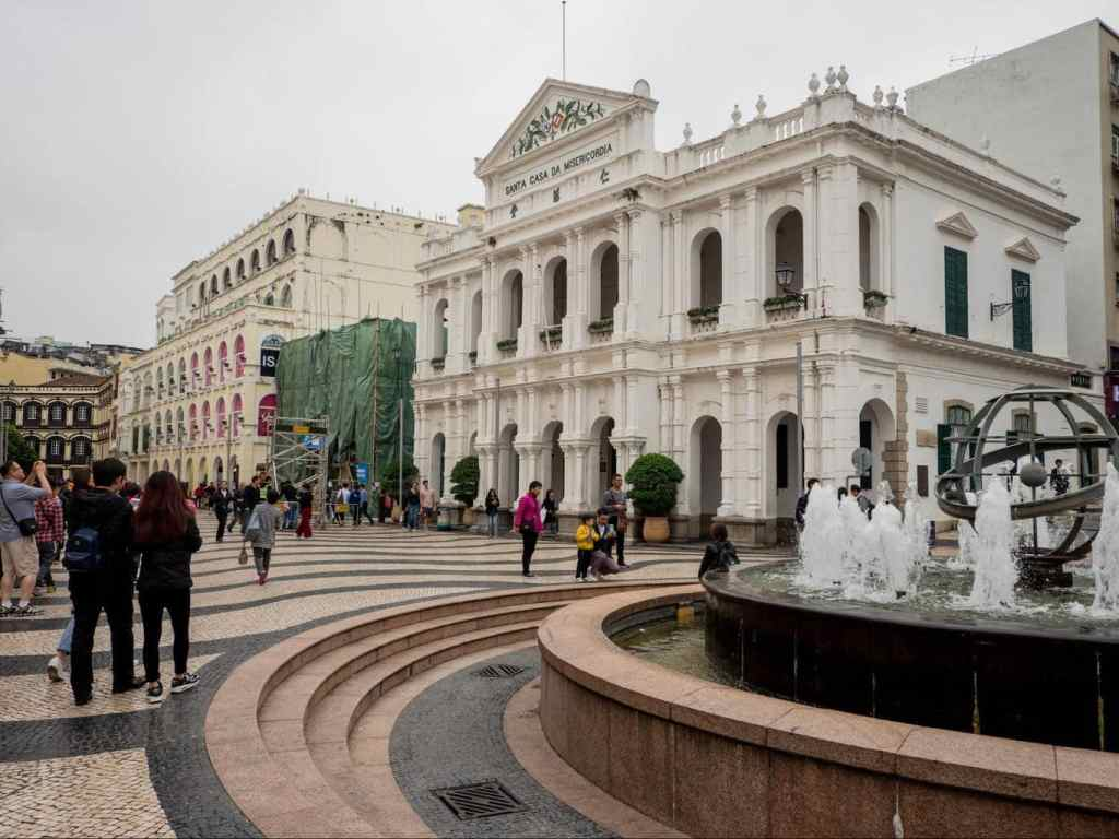 Macau's holy house of mercy