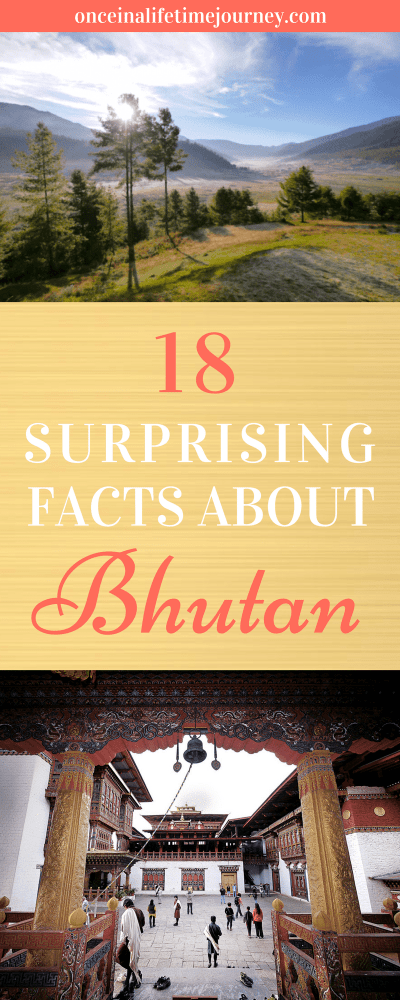 18 Surprising Facts About Bhutan Pin