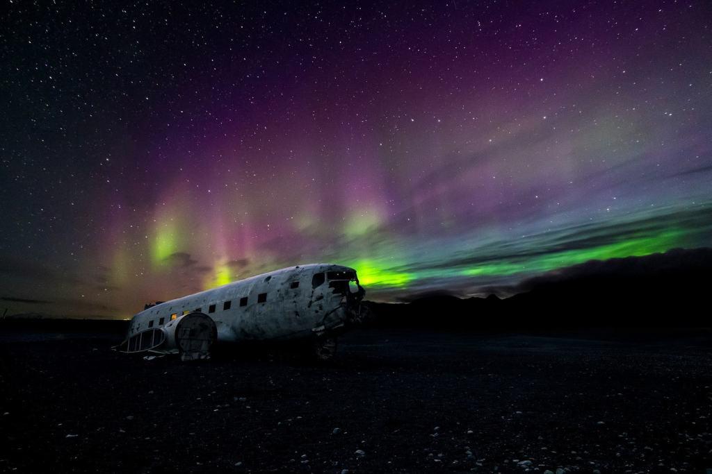 Colours of the Aurora Borealis