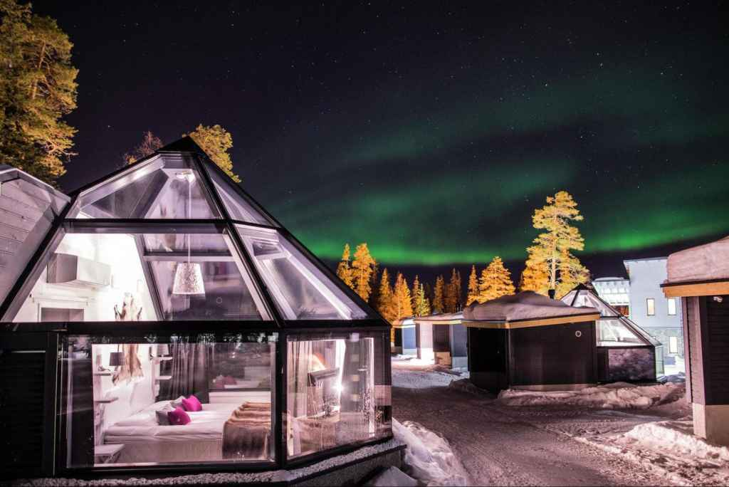 Santa's Aurora Hotel in Finland