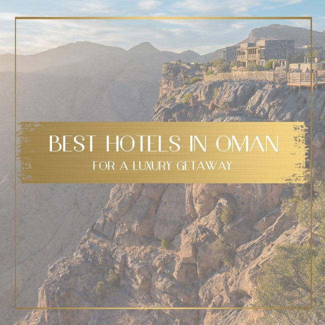best hotels in oman feature