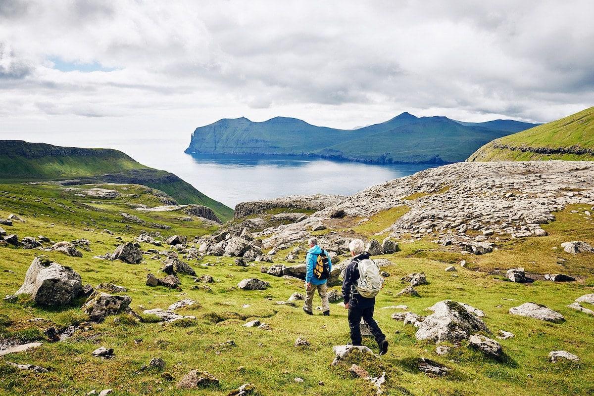 Hiking in the Faroe Islands