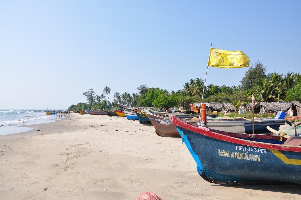 Beach of Goa