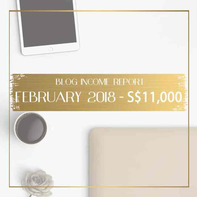 Blog income report February 2018 feature