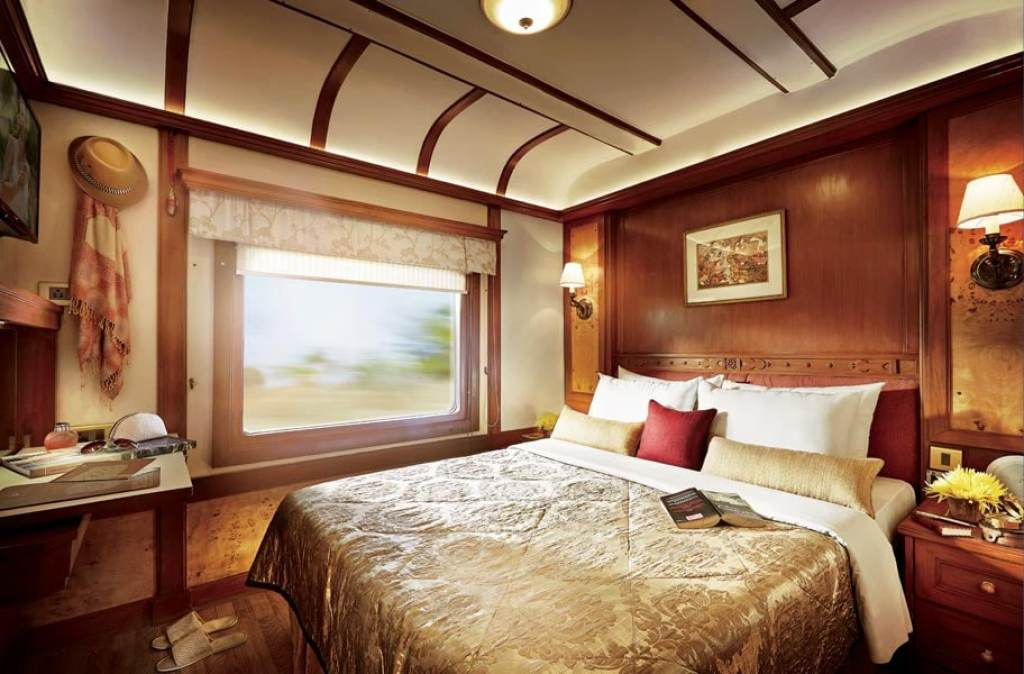 Cabin on the Deccan Odyssey
