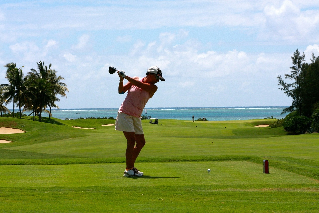 Golf is a great activity to do while on holidays