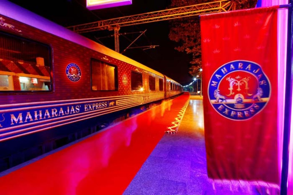 Maharajas Express at night