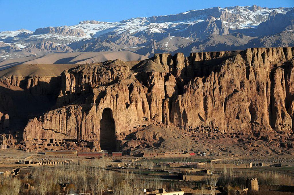 Bamyan Valley in Afghanistan