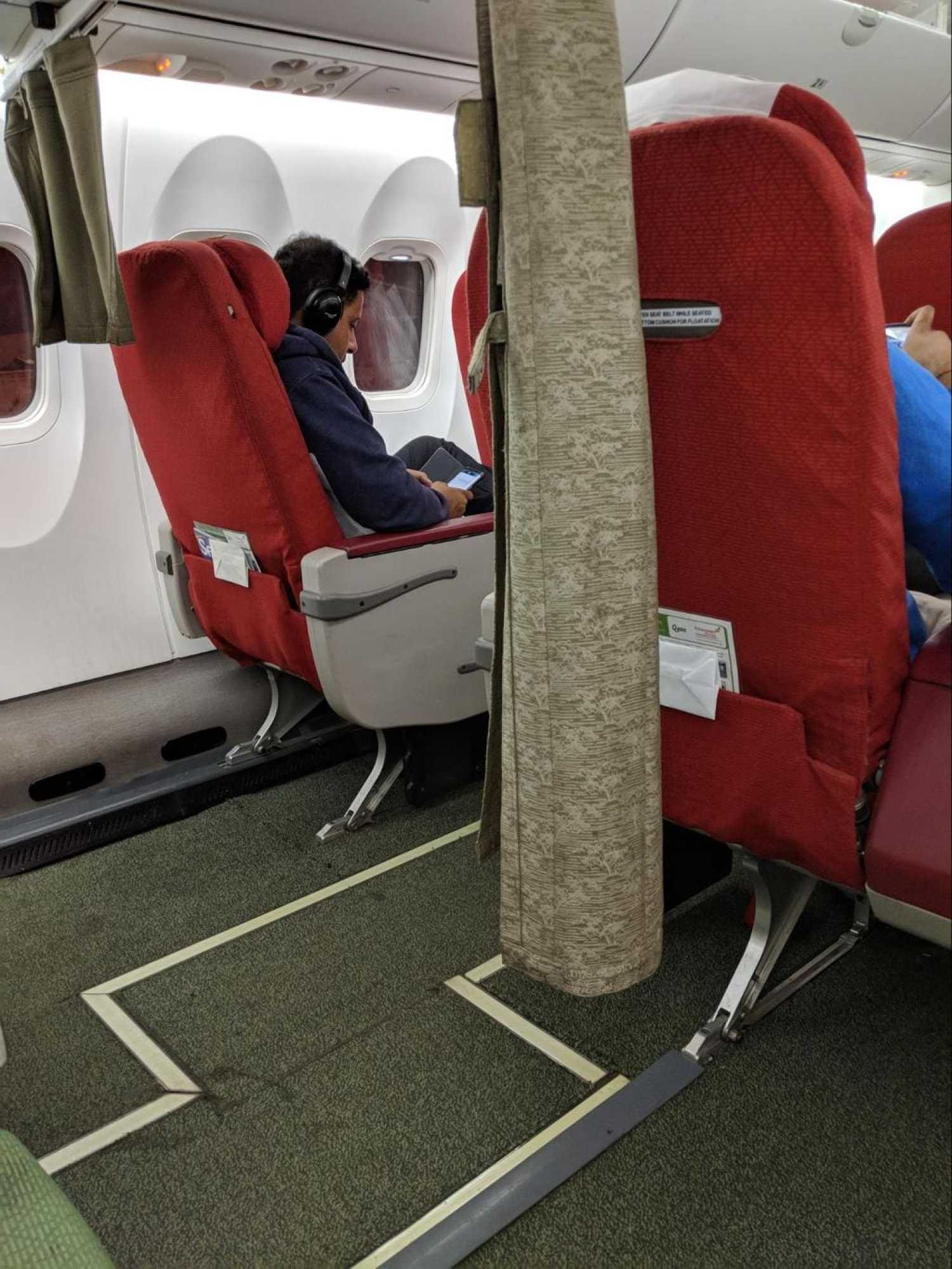 Business Class on Ethiopian Airlines regional flight
