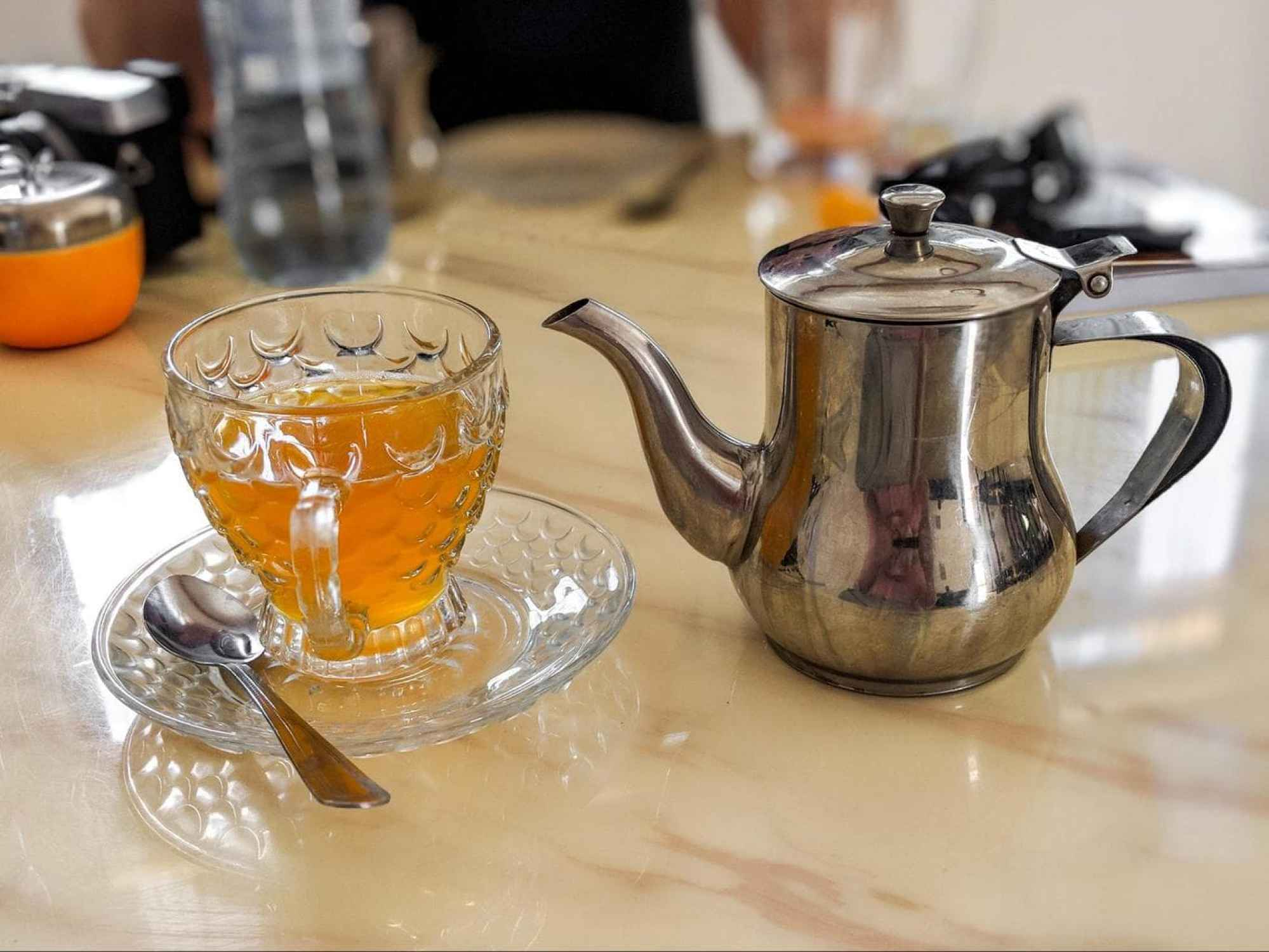 Tea in Somaliland, a way to pass time