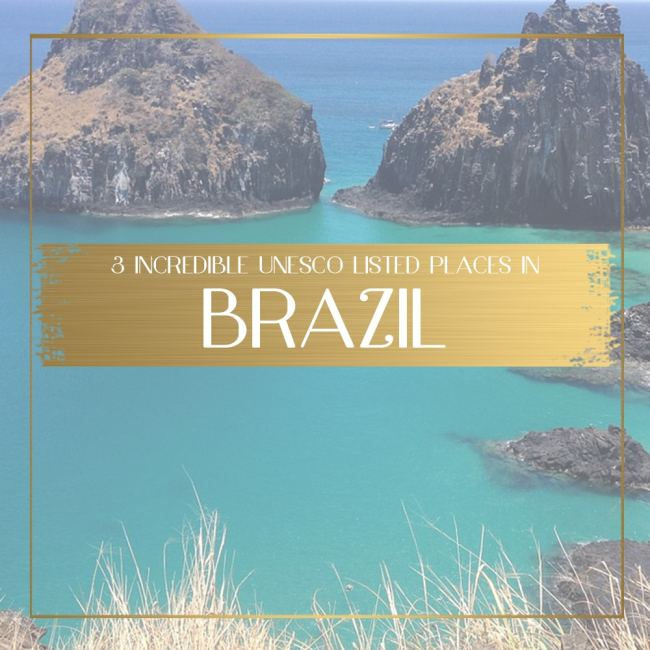 UNESCO listed places in Brazil feature