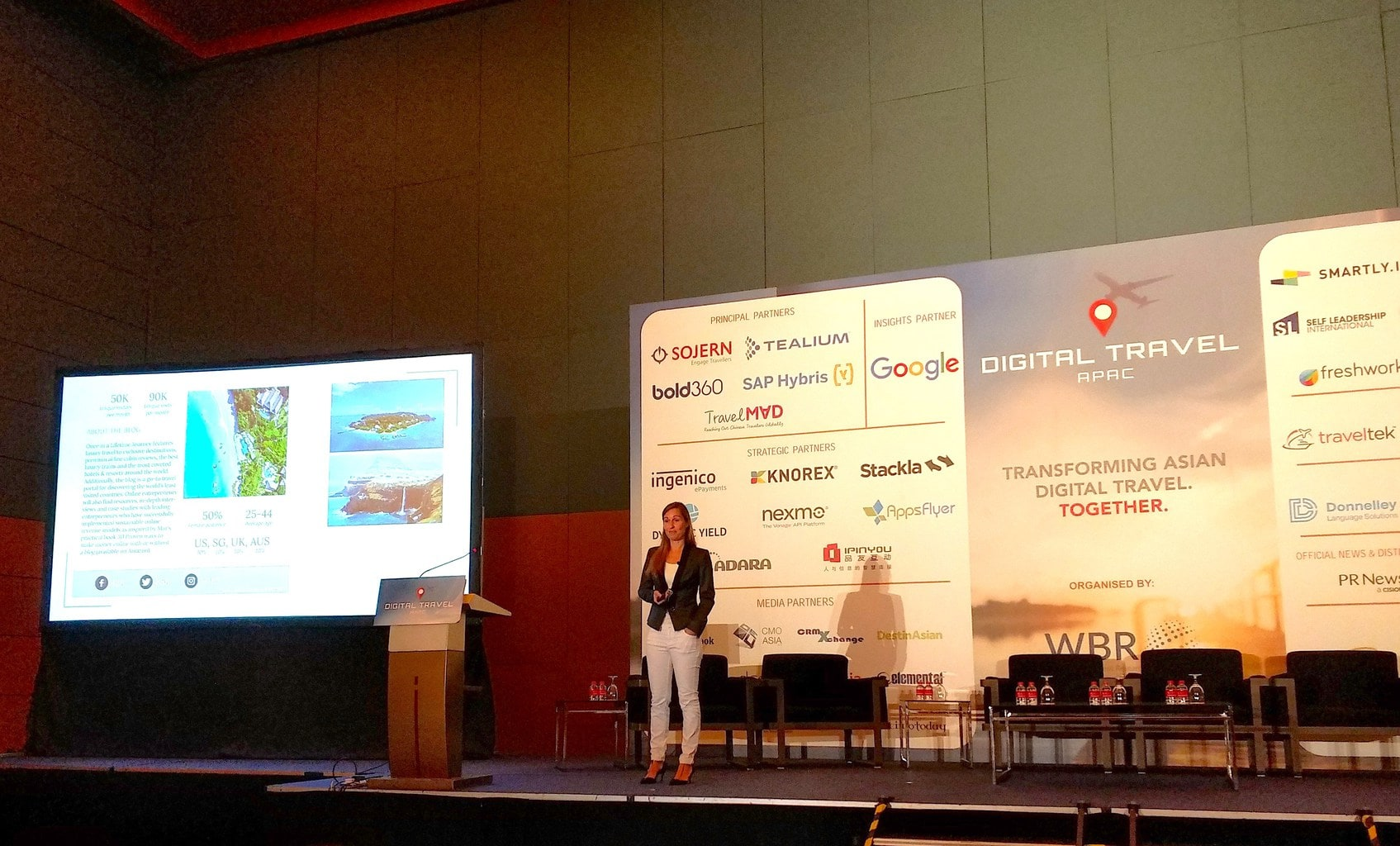 Me at the Digital Travel APAC