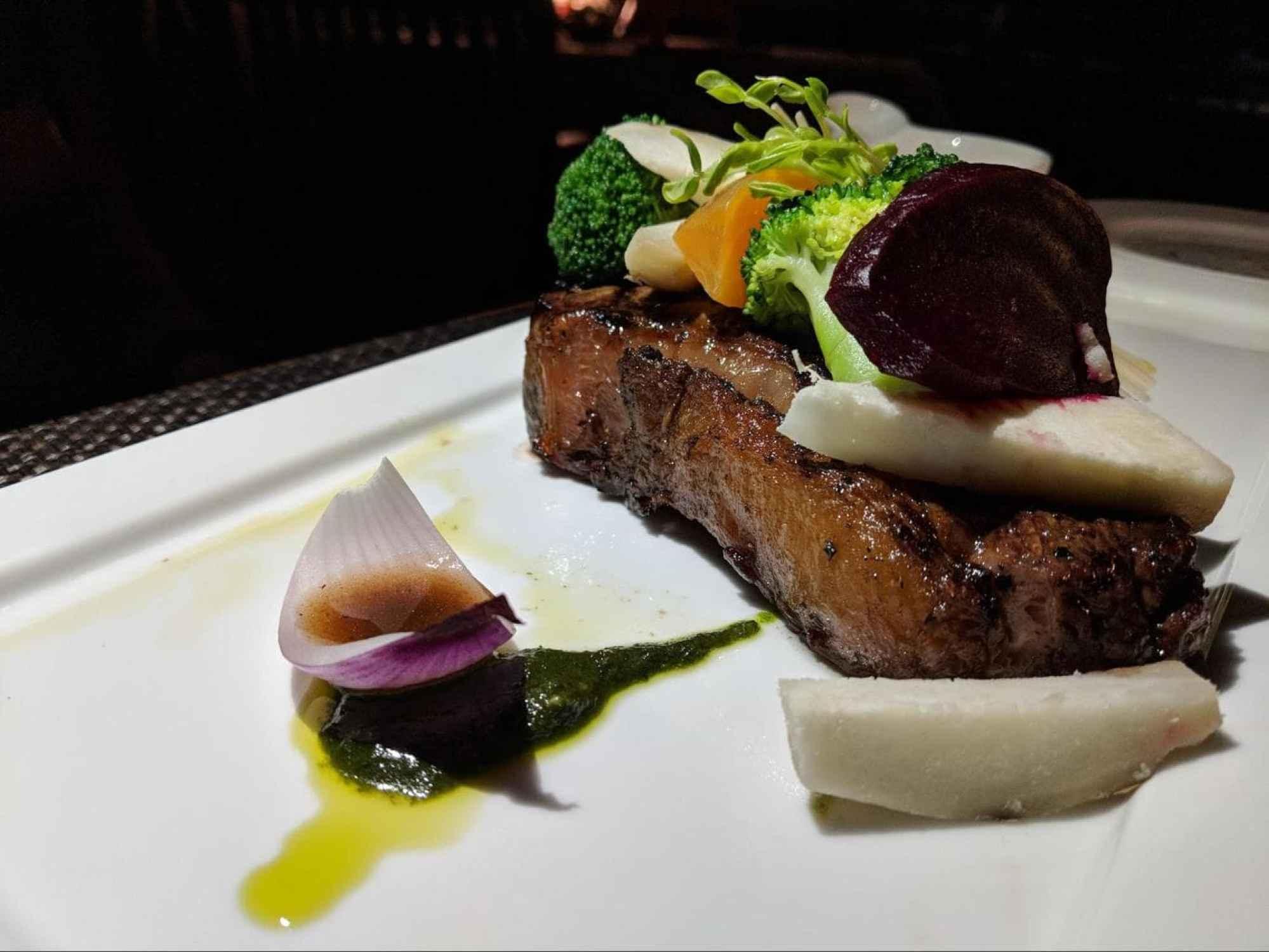 Steak at 1808
