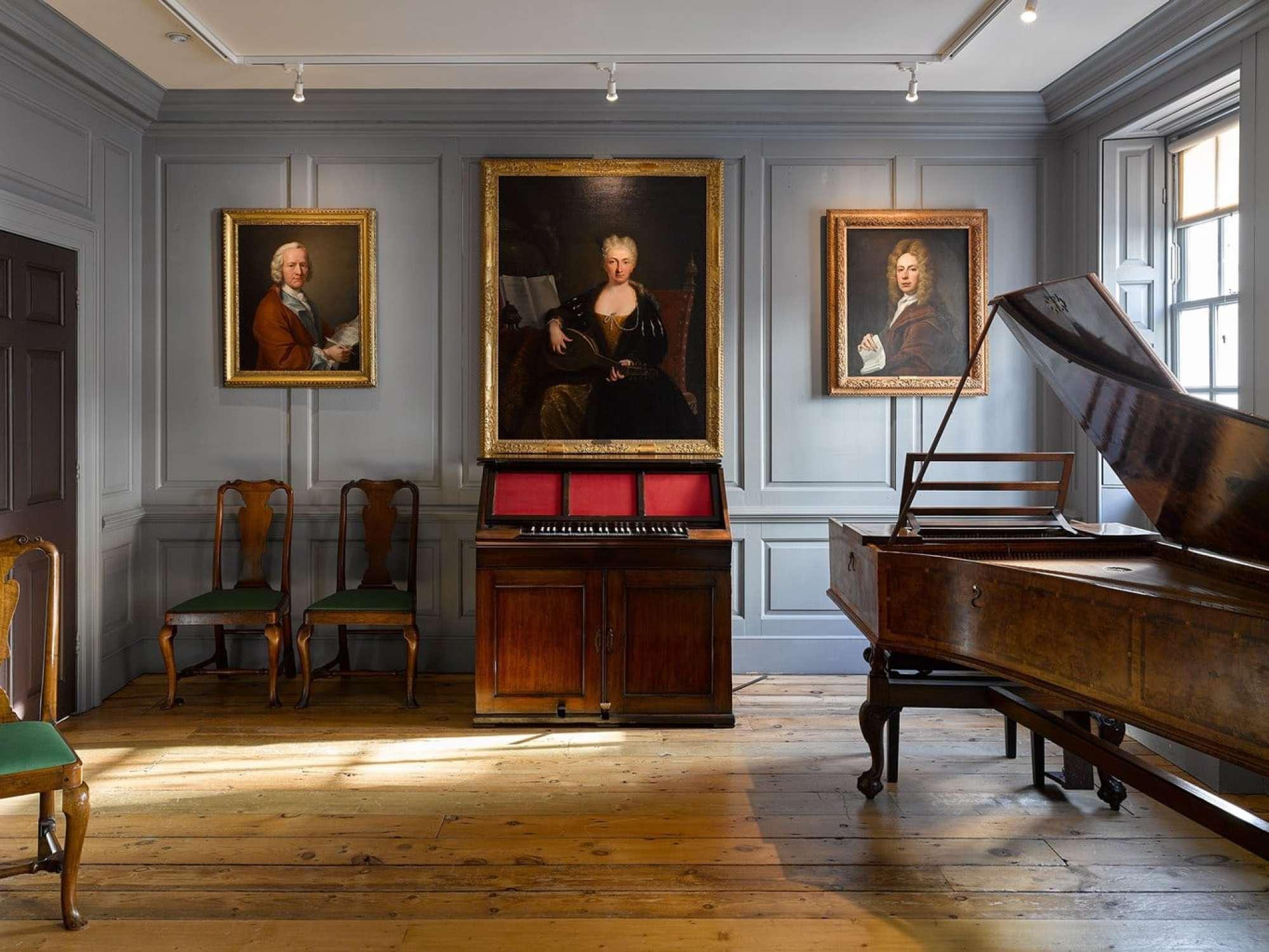 Handel House Music Room Photo by James Newton